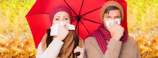 Raffreddore, influenza, mal di gola