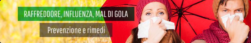 fitoterapia raffreddore mal di gola